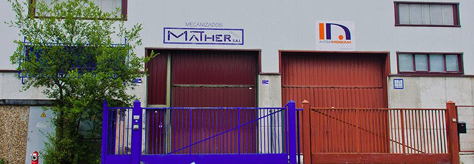 fachada de emperesa mecanizados mather