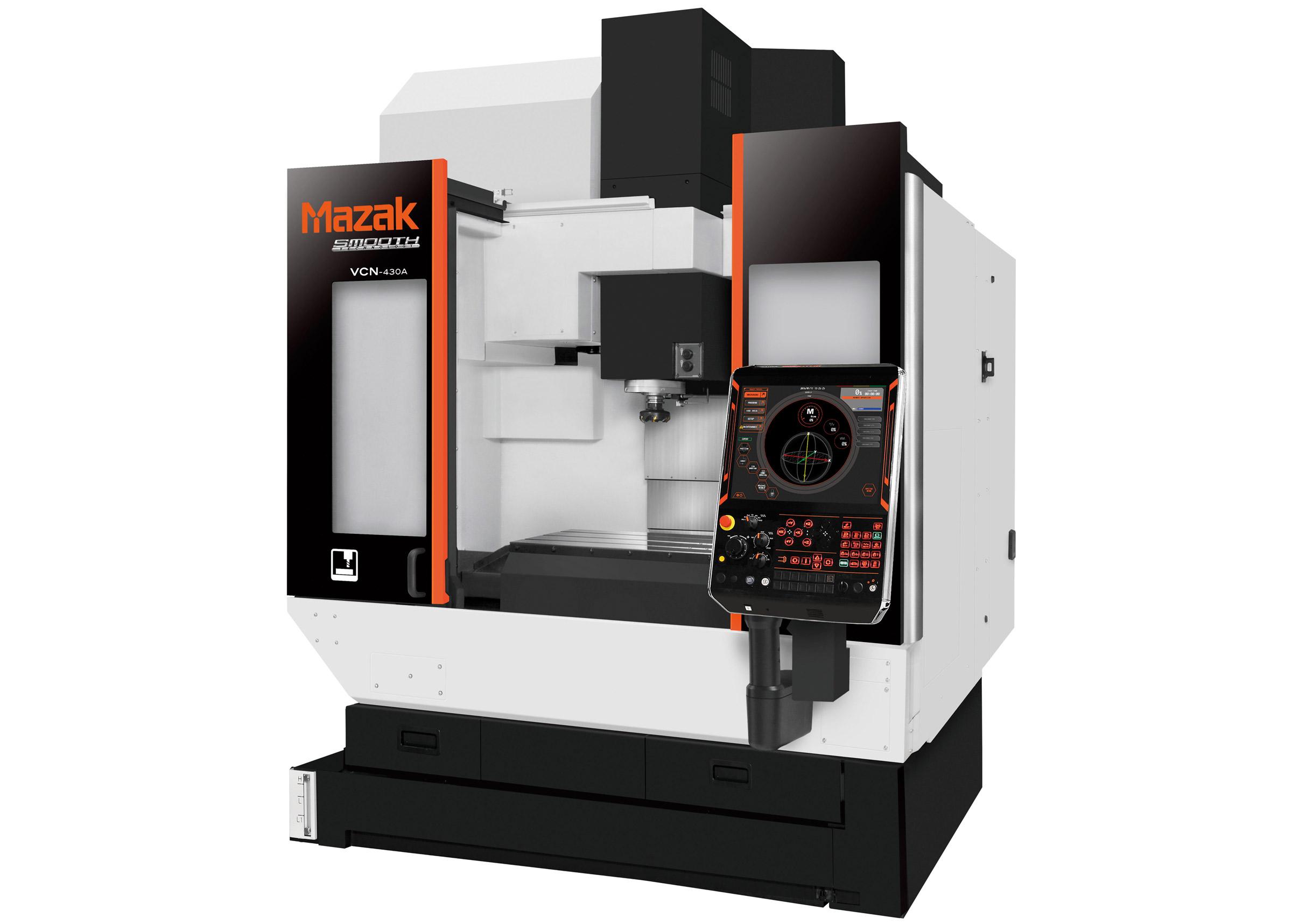 Maquinaria Mazak para procesos mecanizados